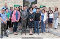 Une délégation chinoise visite Théophile Roussel