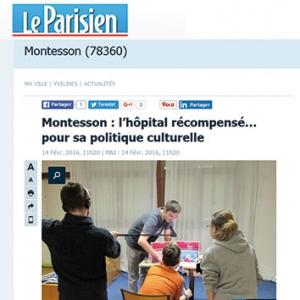 Montesson, l'hôpital récompensé pour sa politique culturelle