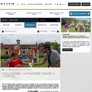 COCLICLOWN : LA FANTAISIE S'INVITE À L'HÔPITAL