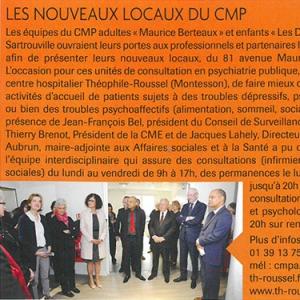 Les nouveaux locaux du CMP