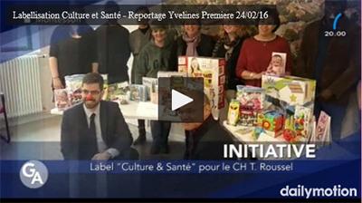 Label Culture et Santé pour le CH T. Roussel