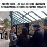 Montesson – Les patients de l'hôpital psychiatrique exposent leurs oeuvres