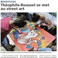 Théophile Roussel se met au Street Art