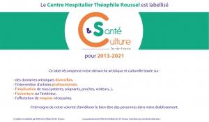 Label Culture et Santé 2019-2021