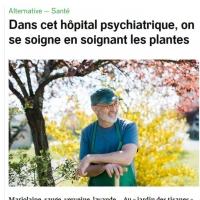 Dans cet hôpital psychiatrique, on se soigne en soignant les plantes